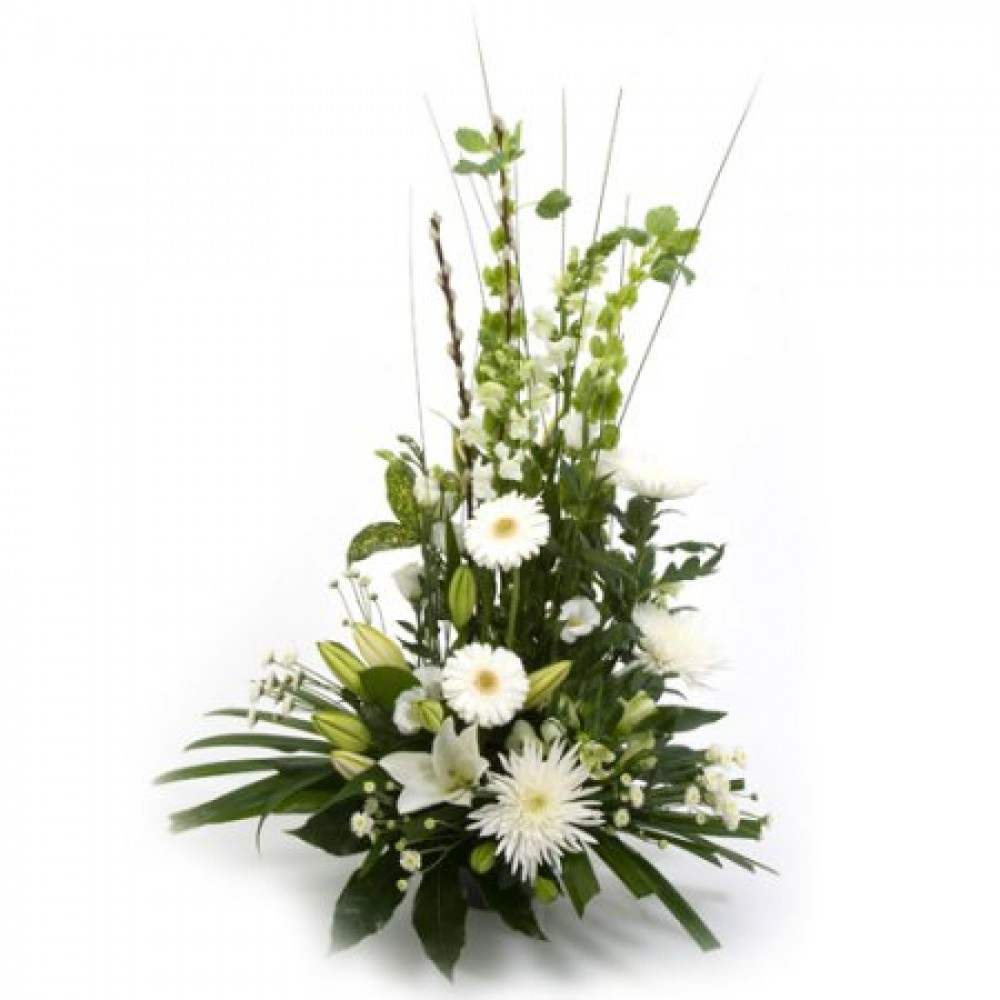 Wintry Whites Flower Power